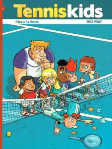 tennis kids - strip2000