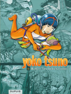 cover van integraal 6 Yoko Tsuno