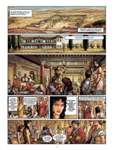 Binnenwerk van De Derde Zoon van Rome