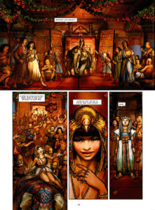 Binnenwerk Cleopatra