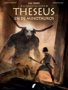 Cover van Theseus en de Minotauros