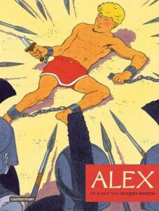 cover van Alex - de Kunst van Jacques Martin