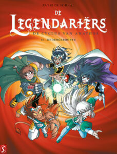 Cover De Legendariërs